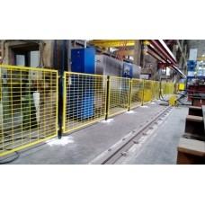 Makine Güvenlik Çit Sistemleri